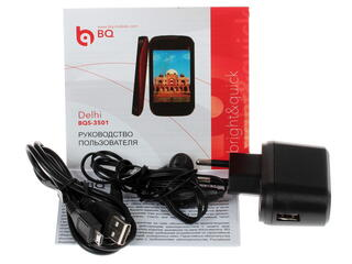 "3.5"" Смартфон BQ BQS-3501 Delhi 512 МБ красный"