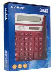 Калькулятор бухгалтерский Citizen SDC-888XRD