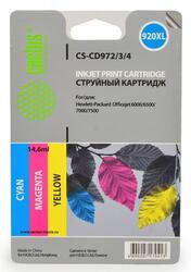 Картридж струйный Cactus СS-CD972/3/4 №920XL