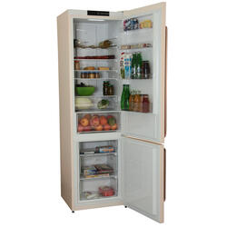 Холодильник с морозильником Gorenje NRK621CLI бежевый