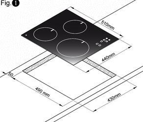 Электрическая варочная поверхность Zigmund & Shtain CIS 029.45 WX