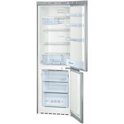 Холодильник с морозильником BOSCH KGN36VL11R серебристый
