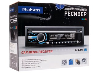 Автопроигрыватель Rolsen RCR-253B