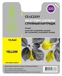 Картридж струйный Cactus CS-LC223Y