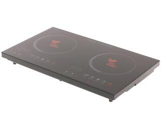 Плитка электрическая Kitfort KT-105 черный