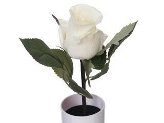 Светильник декоративный Старт LED Роза 1 белый зеленый, белый