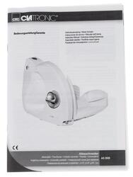 Ломтерезка Clatronic AS2958 белый