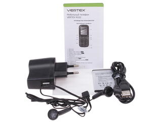 Сотовый телефон Vertex M102 белый