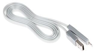 Кабель Remax Laser lighting USB - Lightning 8-pin серый