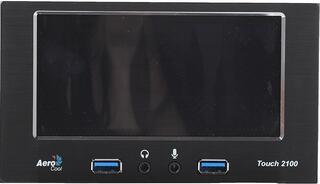 Регулятор оборотов Aerocool Touch-2100 черный
