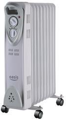 Масляный радиатор Oasis US-25 серый