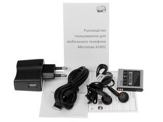Сотовый телефон Micromax X2401 черный