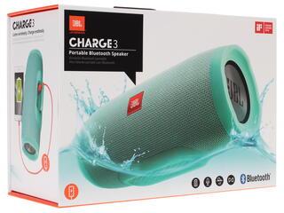 Портативная колонка JBL Charge 3 голубой