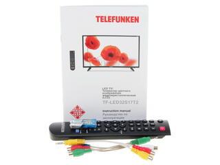 """31.5"""" (80 см)  LED-телевизор Telefunken TF-LED32S17T2 черный"""