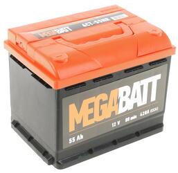 Автомобильный аккумулятор Mega Ватт 6ст-55 NR