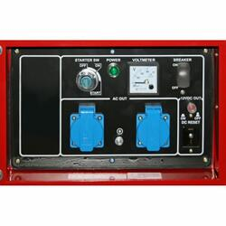 Бензиновый электрогенератор DDE DPG7551E