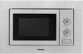 Встраиваемая микроволновая печь Hansa AMM20BMXH серебристый
