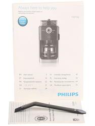 Кофеварка Philips Grind&Brew HD 7762 серебристый