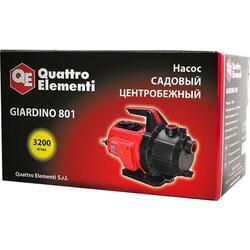 Поверхностный насос Quattro Elementi Giardino 801