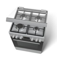 Газовая плита BOSCH HGD745255R серебристый