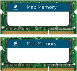 Оперативная память SODIMM Corsair Mac Memory [CMSA16GX3M2A1333C9] 16 ГБ
