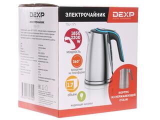 Электрочайник DEXP TSU-175 серебристый