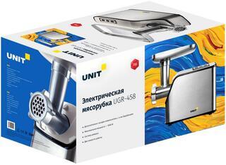 Мясорубка UNIT UGR-458 черный