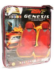 Чехлы на сиденье PSV Genesis Front красный