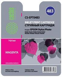 Картридж струйный Cactus CS-EPT0483