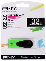 Память USB Flash PNY N1 Attaché 32 Гб
