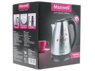 Электрочайник Maxwell MW-1074 серебристый