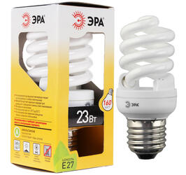 Лампа люминесцентная ЭРА F-SP-23-827-E27