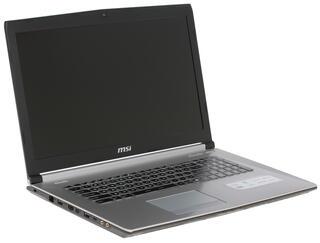 "17.3"" Ноутбук MSI PE70 6QE-063XRU серебристый"
