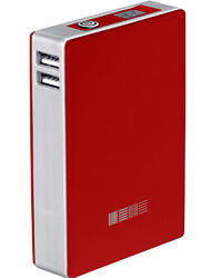 Портативный аккумулятор InterStep PB120002U красный