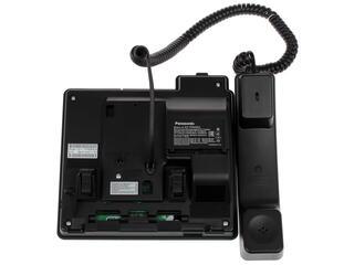 IP-телефон PANASONIC KX-TPA65RUB черный
