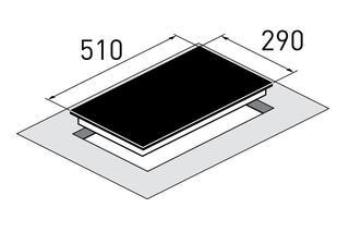Электрическая варочная поверхность Zigmund & Shtain CIS 030.30 WX