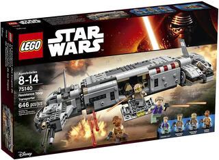 Конструктор LEGO Star Wars Военный транспорт Сопротивления 75140