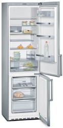 Холодильник с морозильником Siemens KG39EAI30R серебристый