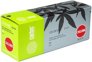 Картридж лазерный Cactus CS-O610BK