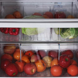 Холодильник с морозильником Hitachi R-V542 PU3 PBE бежевый