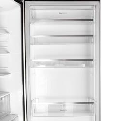 Холодильник с морозильником LG GA-B489TGBM черный