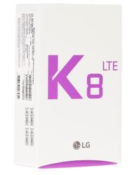 """5"""" Смартфон LG K350E К8 16 ГБ белый"""