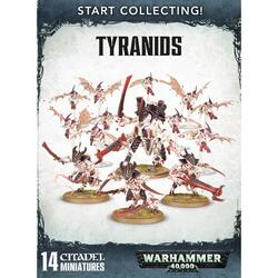 Дополнение для игры Warhammer 40000: Start Collecting! - Tyranids