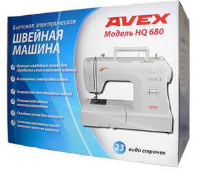 Швейная машина Avex HQ 680