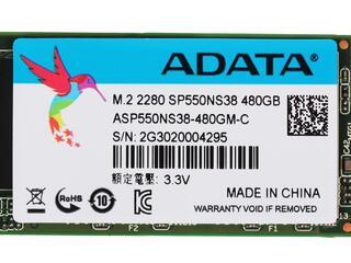 480 ГБ SSD M.2 накопитель AData Premier SP550 [ASP550NS38-480GM-C]