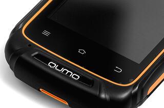 """3.5"""" Смартфон Qumo Quest Defender 4 Гб черный"""