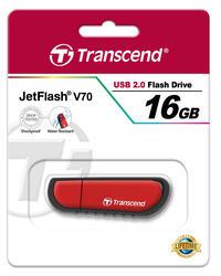Память USB Flash Transcend JetFlash v70 16 Гб