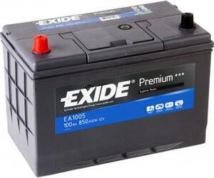 Автомобильный аккумулятор EXIDE PREMIUM EA1005