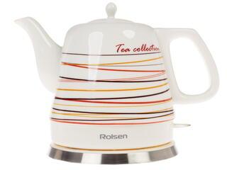 Чайный набор Rolsen RK-1211CSN белый