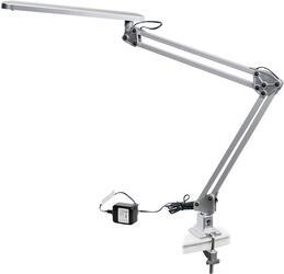 Настольный светильник Эра NLED-441-7W-S серебристый